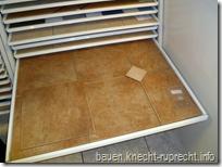 Bodenfliese und Einleger für Flur, Küche, HWR