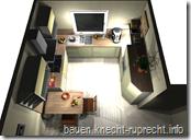 Küchenansicht von oben