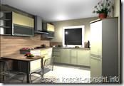 Küchenansicht links
