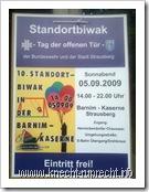 Ankündigung des 10. Standort-Biwaks in Strausberg