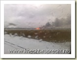Brand am Flughafen Tegel
