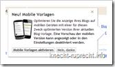 Blogger bringt mobile Ansicht