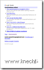 Google Reader unter Symbian: Artikelübersicht