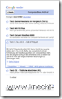 Google Reader iPhone: Artikelansicht