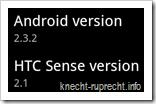 Android 2.3.2 für Desire HD