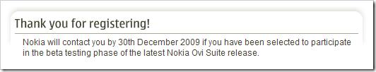 Nokia Ovi Suite: Beta-Test