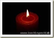 Das Bild einer Kerze