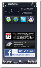 Coming Next: Alternatives Kalender-Widget für das N97