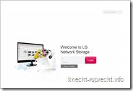 LG NAS N2A2: Anmeldung