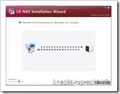 LG NAS N2A2: Netzwerkeinrichtung