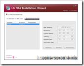 LG NAS N2A2: Netzwerkeinrichtung (II)