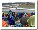 Regenwettter auf dem Sachsenring
