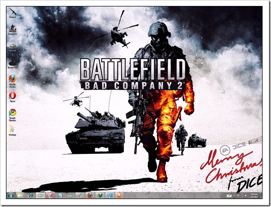 BFBC2: Windows 7 Theme