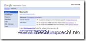 Google Webmaster-Tools