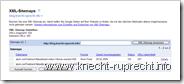 Blogger-Sitemaps für knecht-ruprecht.info