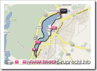 9,33km - der Straussee