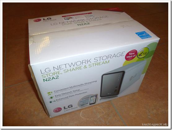LG NAS N2A2