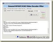 Merit-Einstellung für emzdecmp4_h263.dll