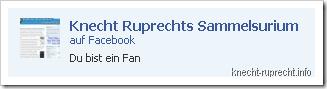 Knecht Ruprechts Sammelsurium bei Facebook