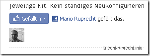 Blogger und der Facebook Like Button