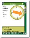 Geocache Navigator - der Kompass