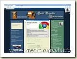 Knecht Ruprechts Sammelsurium mittels Google Chrome