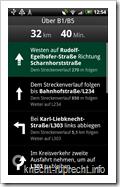 Google Maps Navigation: Routenbeschreibung
