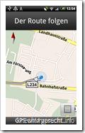 Google Maps Navigation: Eigener Standort