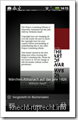 ePub im HTC eBook-Reader