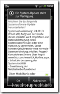 Vodafone-Firmware 1.24.161.3 für HTC Desire