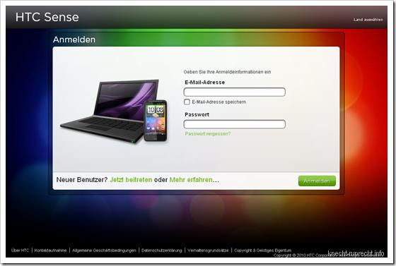 HTCSense.com gestartet