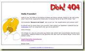 HTTP Error 404 - Die Ruprecht-Variante