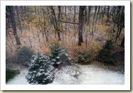 Schnee in Strausberg-Vorstadt