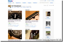 Mein Flickr-Stream