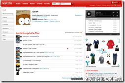 Mein Last.FM-Profil