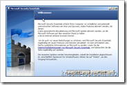 Windows Security Essentials - Installation