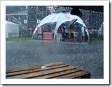 Regen am Sachsenring 2009
