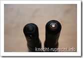 Ladekontakte der LED Lenser M7R