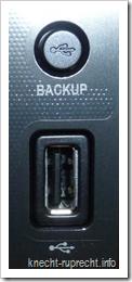 LG NAS N2A2: vorderer USB-Anschluss