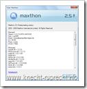 Maxthon 2.5.10.2576 Beta