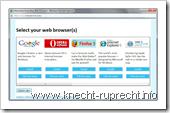 Microsoft Browser Ballot - Vorschlag
