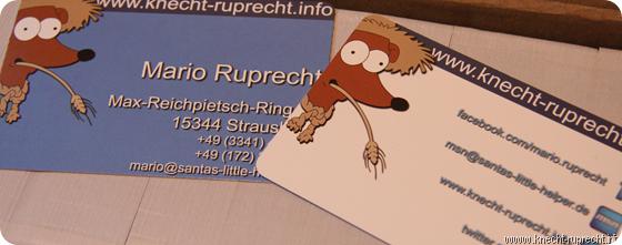 Meine kostenlosen Visitenkarten von Flyertaxi.de