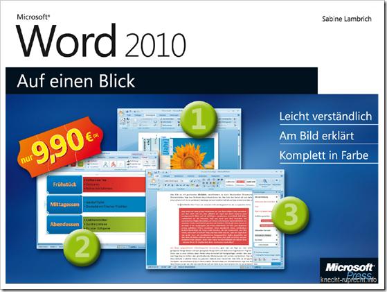 Microsoft Word 2010 - Auf einen Blick