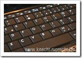 Asus 1005HA-H: Tastatur fast Vollgröße