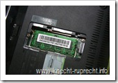 Asus 1005HA-H: Zugang zum RAM