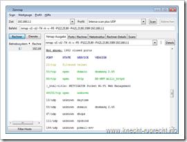 Nmap 5.20: Intense Scan