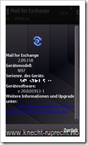 Mail for Exchange 2.09.158
