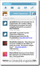 Nokia Messaging for Social Networks: Twitter