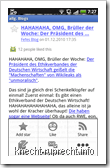 Google Reader for Android: Artikelansicht