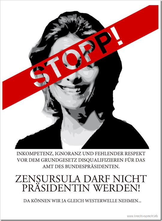 STOPP! Zensursula!